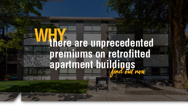 Why There Are Unprecedented Premiums on Retrofitted Apartment Buildings