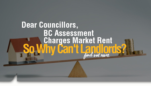 BC Assessment Charges Market Rent – So Why Can't Landlords?