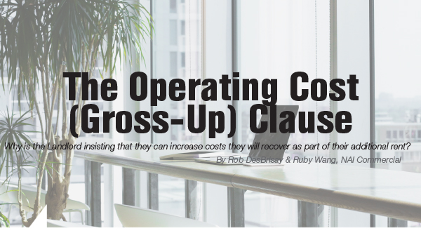 The Operating Cost (Gross-Up) Clause