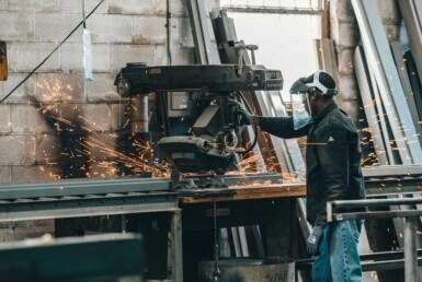 welding metal industrial