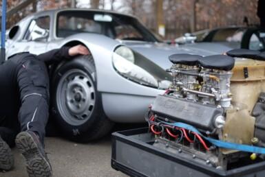 porsche classic car repair auto store